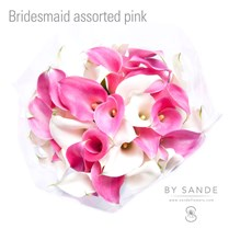 Bridesmaid assorted pink